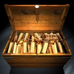Link toA box of gold bars psd