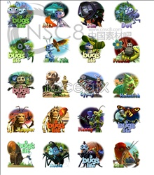 Link toA bug's life cast icons
