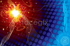 Link tovector background colorful cool dreamy A