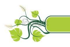 Link tovector banner vine fresh A