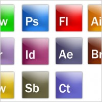 Link toA full set of adobe software icon psd layered files