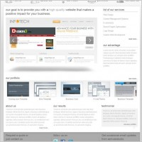 Link toA new foreign web psd