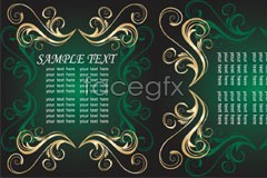 Link toA noble and elegant european-style borders vector