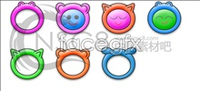 Link toA series of cute baby icons 3