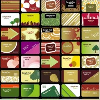 Link toA variety of card background vector