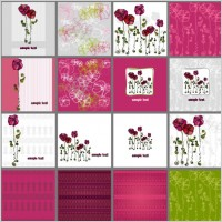 Link toA variety of exquisite patterns of flowers illustrator 01 vector