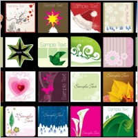 Link toA variety of lovely background vector