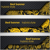 Link toA variety of topics banners 03 vector