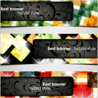 Link toA variety of topics banners 05 vector