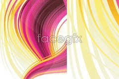Link toA very attractive shimmer moving line background vector