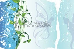 Link toA vintage style vine pattern vector
