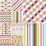 Link toAbstract background checker vector