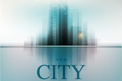 Link toAbstract background of city silhouette vector