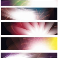 Link toAbstract banners vector set