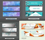 Link toAbstract banners vector