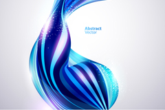 Link toAbstract blue light background vector