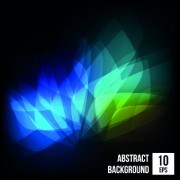 Link toAbstract bokeh shiny background vector 02
