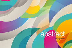 Link toAbstract circular background vector