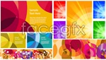 Link toAbstract color patterns vector