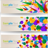 Link toAbstract colorful banner