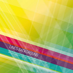 Link toAbstract colorful striped background vector