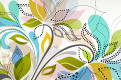 Link toAbstract decorative background vector