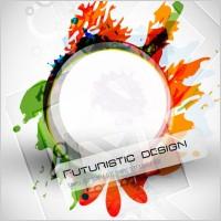 Link toAbstract design elements 02 vector