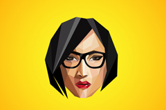 Link toAbstract female avatar design vector
