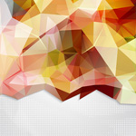 Link toAbstract geometric backgrounds vector
