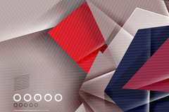 Link toAbstract geometric origami background vector