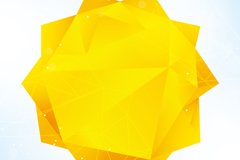 Link toAbstract geometry sun background vector