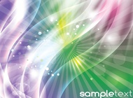 Link toAbstract glow background vector free