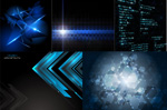 Link toAbstract glow backgrounds vector