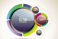 Link toAbstract glow d ring vector image