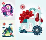 Link toAbstract graffiti designs vector