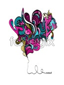 Link toAbstract hearts vector