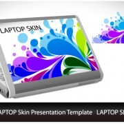 Link to05 vector sticker laptop Abstract
