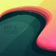 Link toAbstract layers wave vector background art 03 free