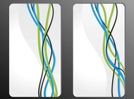 Link toAbstract line designs vector free