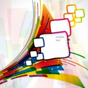 Link toAbstract line with square vector background 02 free