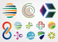 Link toAbstract logos vector free