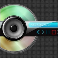 Link toAbstract psd skin for mp3 player