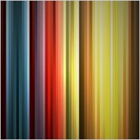 Link toAbstract rainbow colors on black background vector graphic