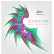 Link toAbstract shapes shiny background vector 04