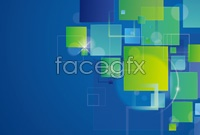 Link toAbstract squares background vector