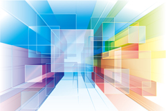 Link toAbstract symphony square background vector