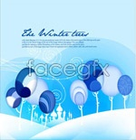 Link toAbstract the wind snow winter vector