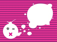 Link toAbstract thought bubbles vector free
