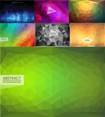 Link toAbstract triangular background vector