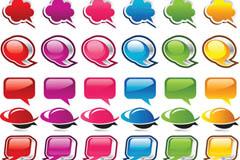 Link toAcrylic color dialog box icon vector